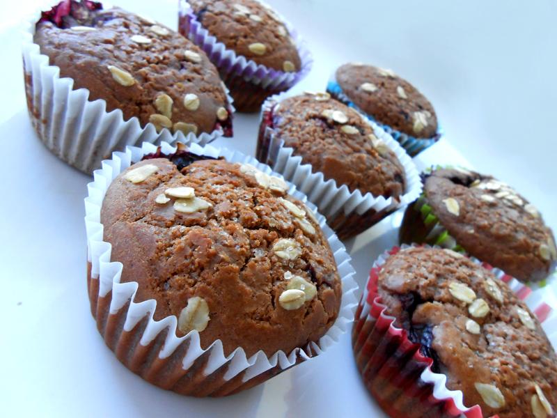 cukormentes teljes kiőrlésű tutibiztos muffin alaprecept