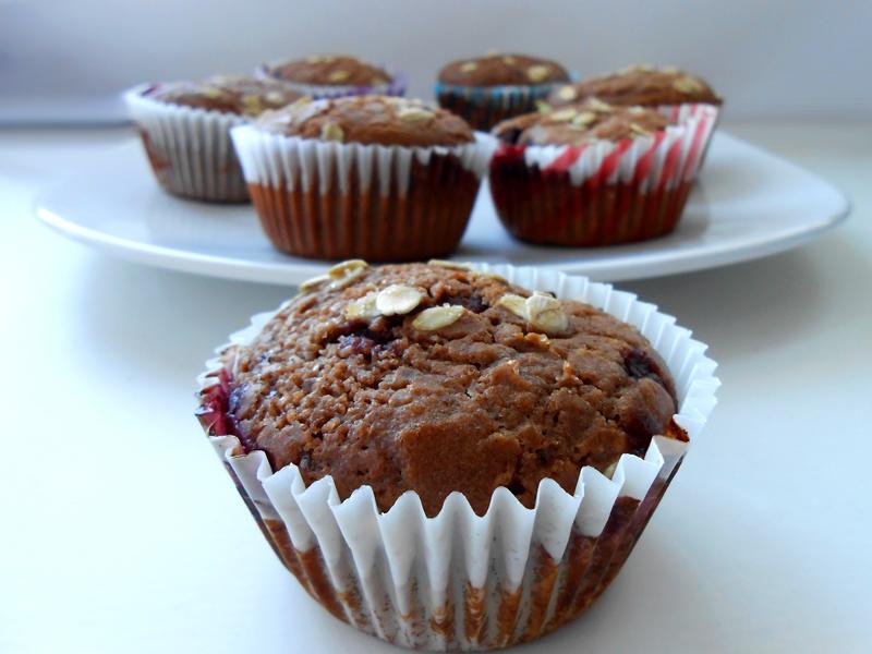 cukormentes teljes kiőrlésű muffin alaprecept