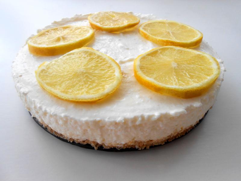 cukormentes nagyon citromos joghurttorta