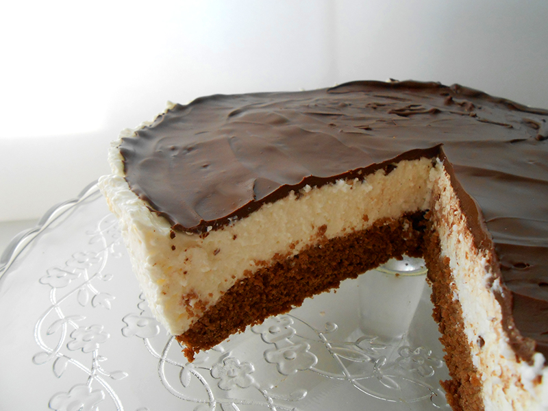 cukormentes túró rudi torta