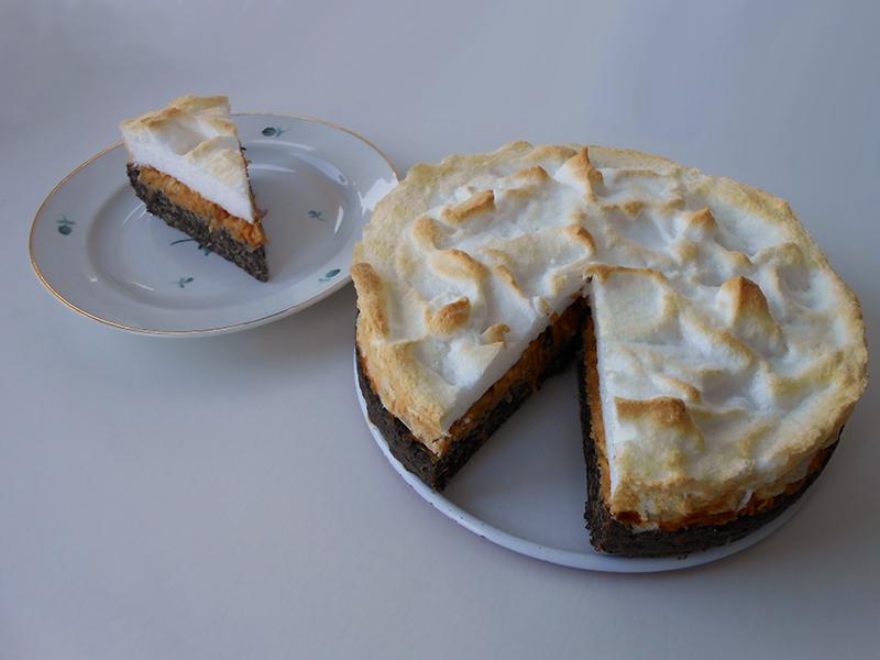 laktózmentes cukormentes gluténmentes habcsókos almás torta