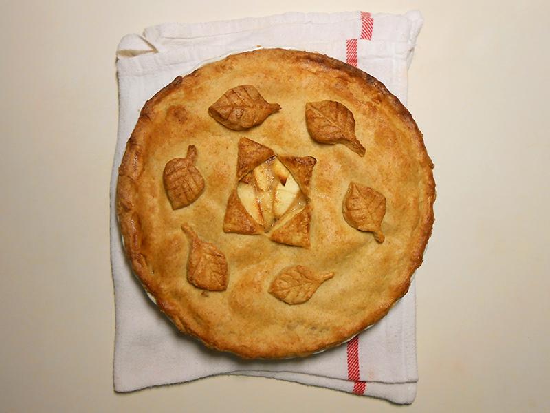 klasszikus almás pite cukormentes változatban