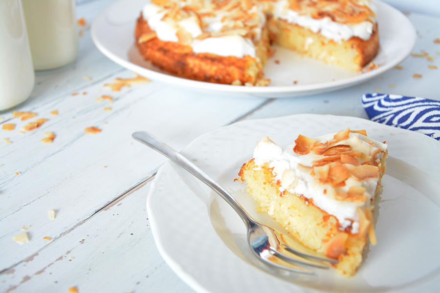 cukormentes piña colada torta