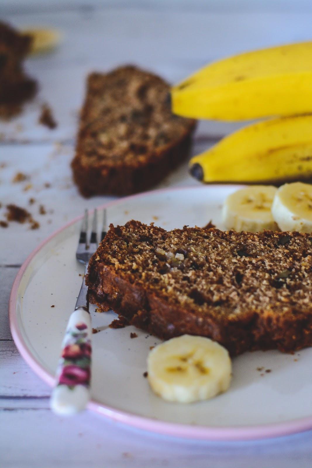 teljes kiőrlésű fűszeres banánkenyér