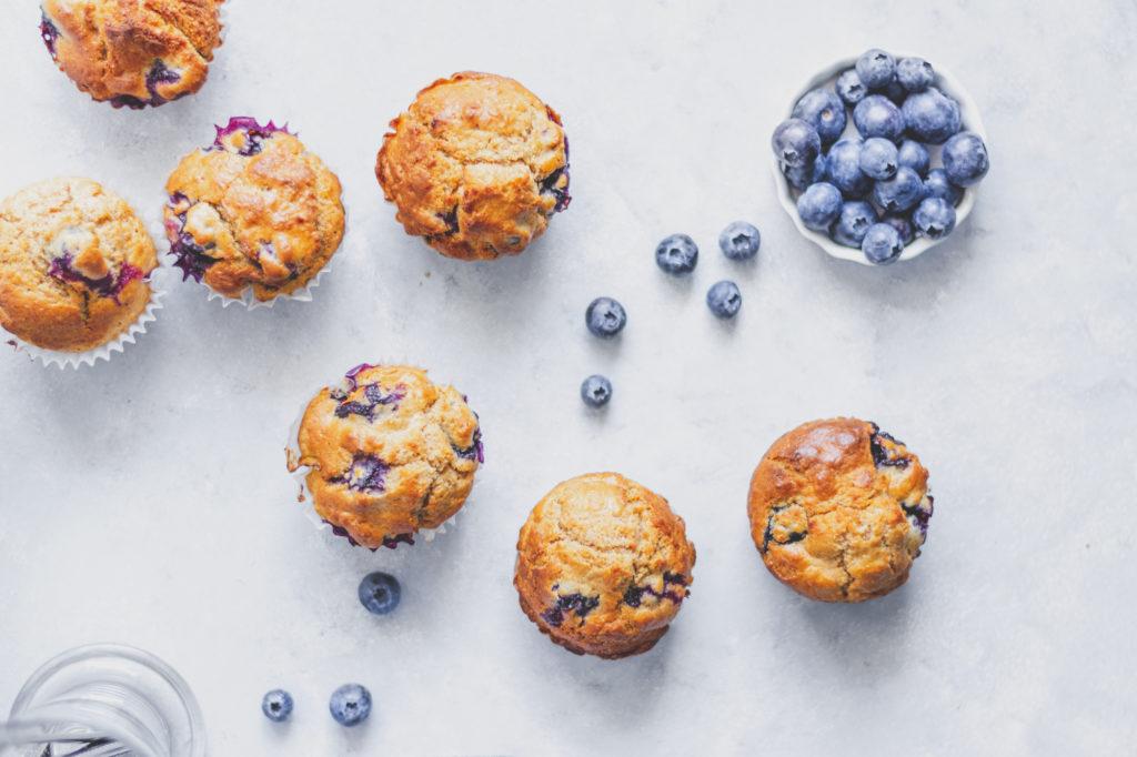 cukormentes teljes kiőrlésű muffin