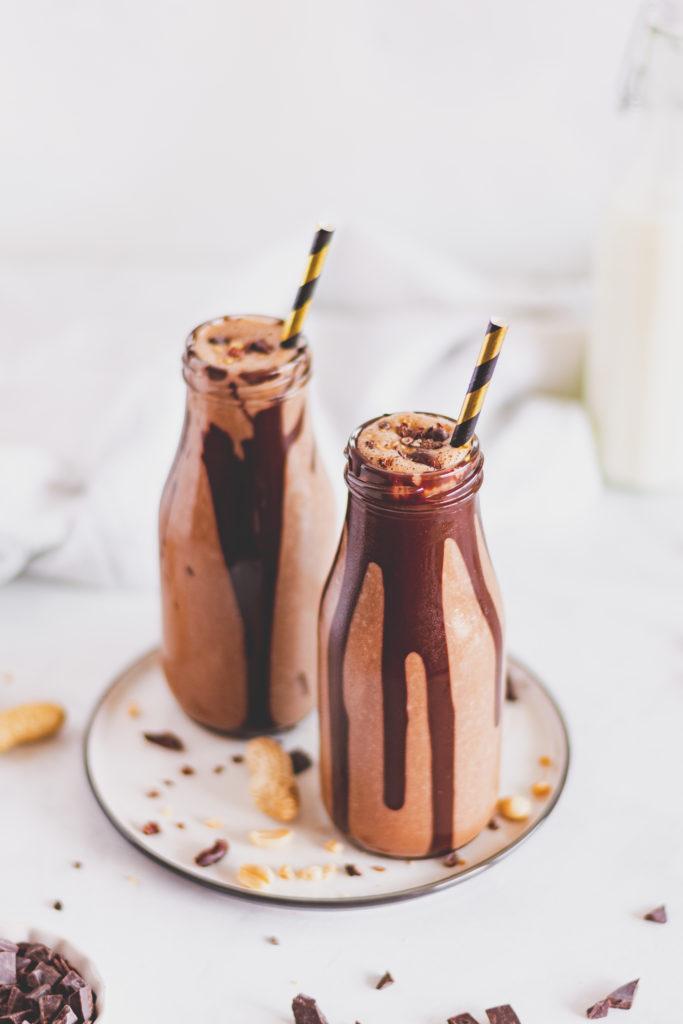 cukormentes csokis shake