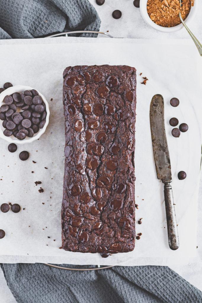 cukormentes csokis cukkinis süti