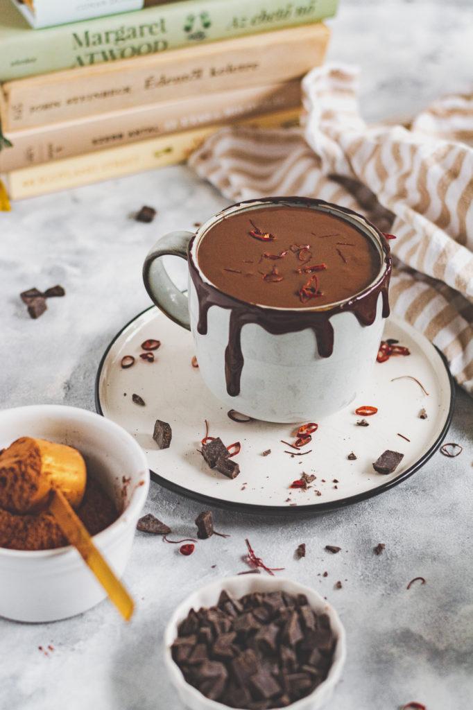 vegán forró csoki