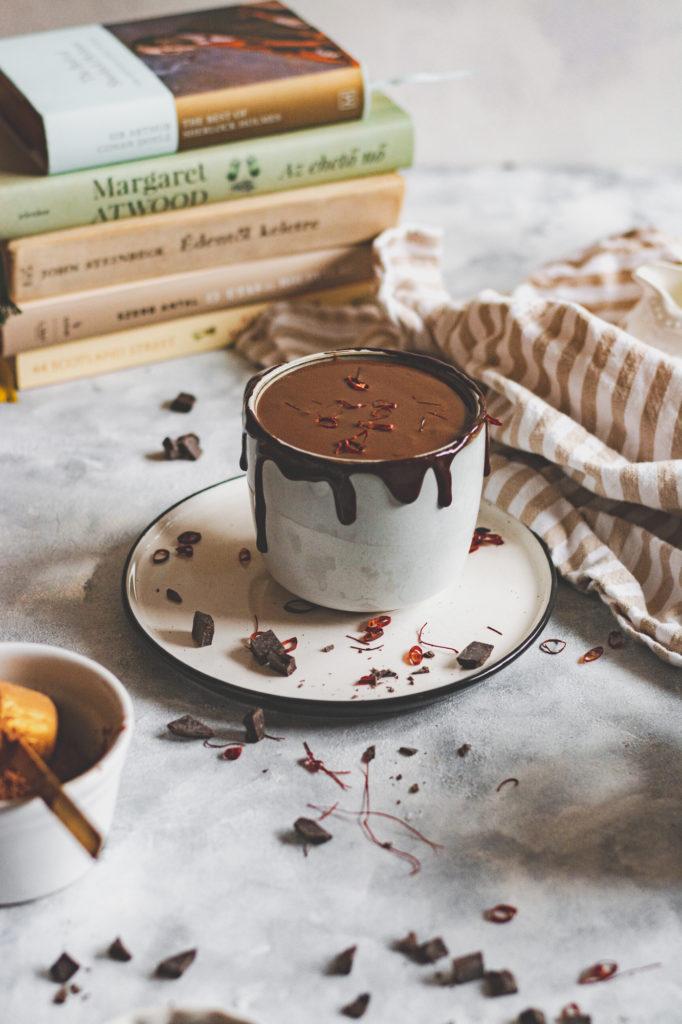 cukormentes forró csokoládé