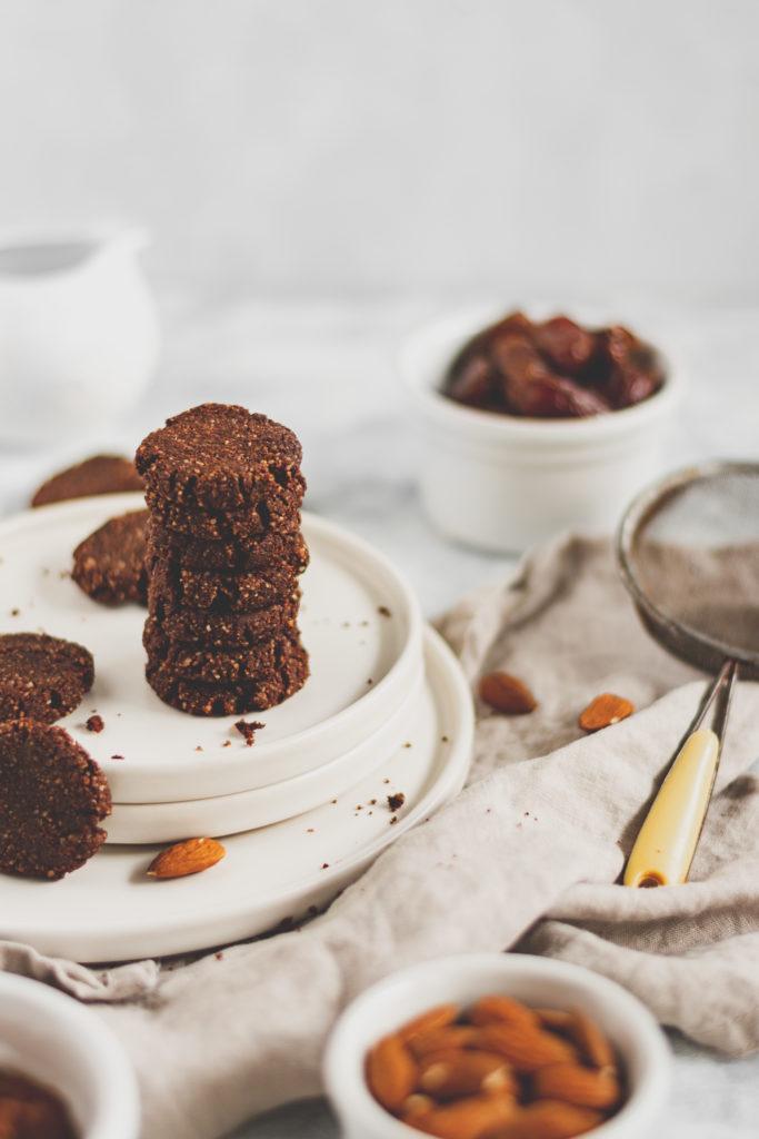 vegán kakaós keksz